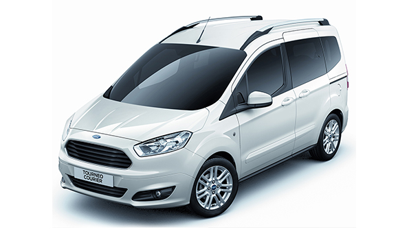 2017 FORD TOURNEO COURIER DELUXE DIZEL MANUEL Kiralama